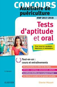 Concours auxiliaire de puericulture - Tests d'aptitude et oral - IFAP 2017-2018