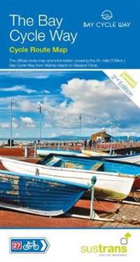 Bay cycle way cycle route map - 81 mile route from walney island to glasson