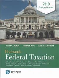Pearson's Federal Taxation 2018 Comprehensive Plus Myaccountinglab with Pearson Etext -- Access Card Package