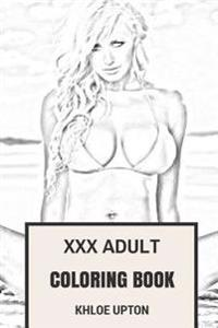 XXX Adult Coloring Book: Erotic, Seductive and Softcore Porn Patterns Inspired Adult Coloring Book