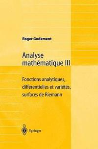 Analyse Mathematique III