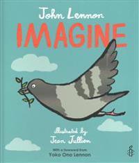 Imagine - john lennon, yoko ono lennon, amnesty international illustrated b