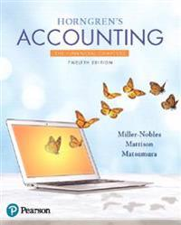 Horngren's Accounting, the Financial Chapters Plus Myaccountinglab with Pearson Etext -- Access Card Package