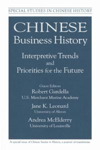 Chinese Business History
