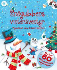 Snögubbens vinteräventyr – pysselbok med klistermärken