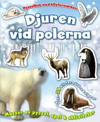 Djuren vid polerna – pysselbok med klistermärken