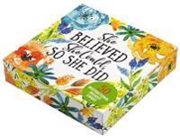 She Believed She Could, So She Did Insight Cards (Deck of 50 Cards)