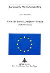 Hermann Brochs -Pasenow--Roman: Eine Re-Orientierung
