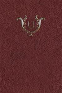 Monogram U Meeting Notebook