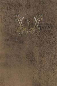 "Monogram ""y"" Meeting Notebook"