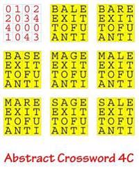 Abstract Crossword 4C