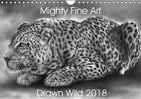 Mighty Fine Art Drawn Wild 2018 2018