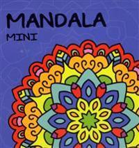 Mandala mini. Blå