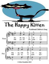 Happy Kitten - Easiest Piano Sheet Music Junior Edition