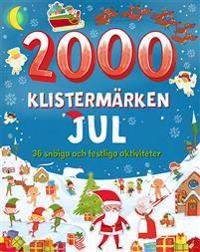 2000 klistermärken: jul