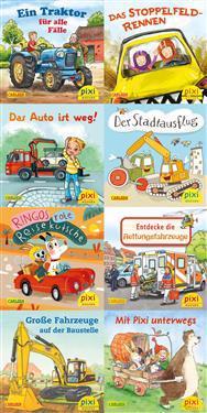 Pixi-Serie Nr. 247: Pixis bunte Fahrzeuge. 64 Exemplare