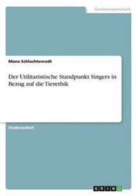 Der Utilitaristische Standpunkt Singers in Bezug Auf Die Tierethik