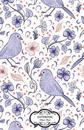 Notebook Journal Dot-Grid, Graph, Lined, Blank No Lined: Bird with Flowers: Small Pocket Notebook Journal Diary, 120 Pages, 5.5 X 8.5 (Blank Notebook