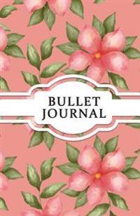 Bullet Journal: Floral Vintage - Dotted Grid Journal for Girls: (5.5*8.5) 130 Pages