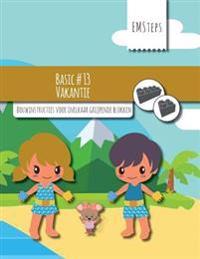 Emsteps #13 Vakantie: Bouwinstructies Voor Inelkaar Grijpende Blokken