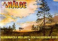 Hälge Almanacka 2018 Älgmanackan med jakt- och Hälgedagar 2018