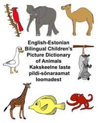 English-Estonian Bilingual Children's Picture Dictionary of Animals