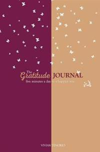 The Gratitude Journal: Five Minutes a Day to a Happier You (Plum Popsicles)
