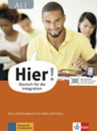 Hier! A1.1. Kurs- und Übungsbuch mit Audios und Videos