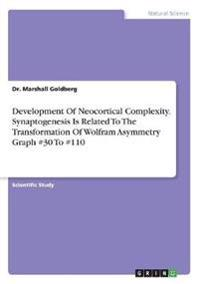 Development of Neocortical Complexity. Synaptogenesis Is Related to the Transformation of Wolfram Asymmetry Graph #30 to #110