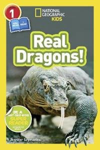 National Geographic Kids Readers  Real Dragons - National Geographic Kids - böcker (9781426330469)     Bokhandel