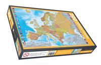 Europa Pussel 200 bitar
