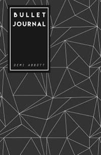 Bullet Journal: Black Geometric Design - 130 Dot Grid Pages, Perfect Designed