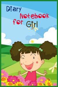 Diary Notebook Girl: 6 X 9, 108 Lined Pages (Diary, Notebook, Journal, Workbook)