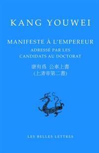 Manifeste A L'Empereur: Adresse Par Les Candidats Au Doctorat
