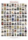 Sjömärken - Affisch (små sjömärken) 700 x 1000 mm