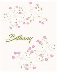 Bethany: Botanical Print Personalized Journal/Notebook/Diary