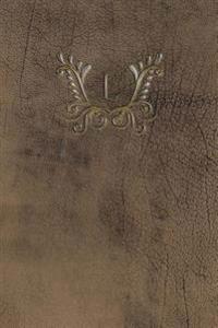 Monogram L Meeting Notebook