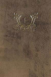Monogram F Meeting Notebook