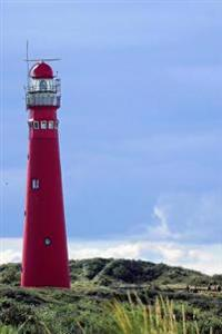 Wadden Island Red Lighthouse in Holland Journal: Take Notes, Write Down Memories in This 150 Page Lined Journal