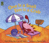 One Is a Snail  Ten Is a Crab  A Counting by Feet Book - April Pulley Sayre  Jeff Sayre  Randy Cecil - böcker (9780763626310)     Bokhandel
