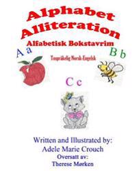 Alphabet Alliteration Bilingual Norwegian English