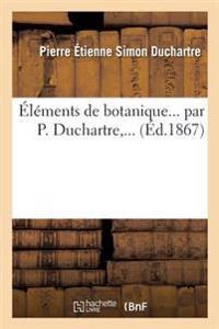 Elements de Botanique