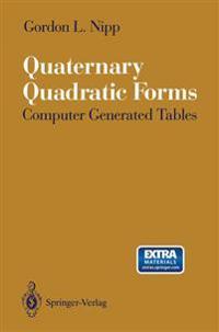 Quaternary Quadratic Forms
