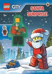 LEGO City: Santa Surprise Activity Book