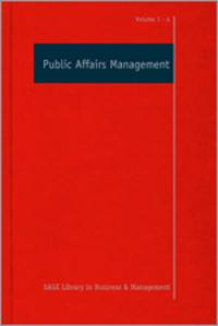 Public Affairs Management