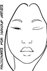 Facecharts for Makeup Artists: Silvia