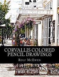 Corvallis Colored Pencil Drawings