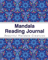 Mandala Reading Journal: 100 Favorite Books (for Book Lovers) - With Book Rating Star to Color