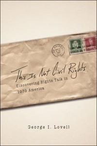 This Is Not Civil Rights