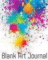Blank Art Journal: Bullet Grid Journal, 8 X 10, 150 Dot Grid Pages (Sketchbook, Journal, Doodle)